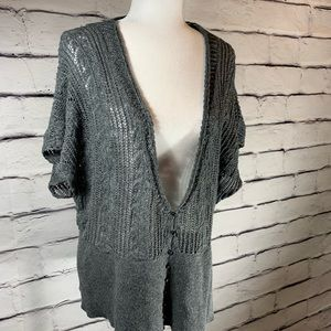 {Lane Bryant} loose knit sweater cardigan